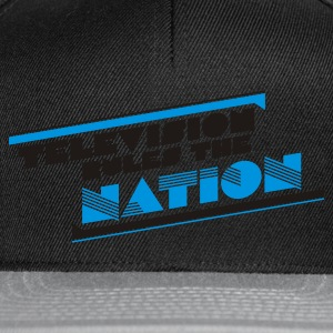 Eigelb television rules the nation T-Shirts - Snapback Cap