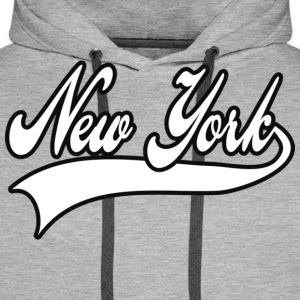 new york T-shirts - Sweat-shirt à capuche Premium pour hommes