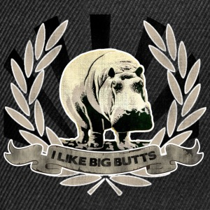 I LIKE BIG BUTTS T-Shirts - Snapback Cap