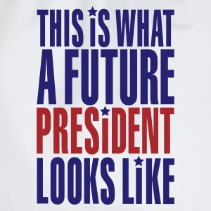 Wit This is what a future President looks like T-shirts - Gymtas