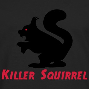 Killer Squirrel T-shirts - T-shirt manches longues Premium Homme
