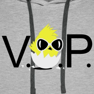 V.I.P. Chick with sunglasses T-Shirts - Men's Premium Hoodie