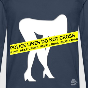 Tee shirt sex crime by CustomStyle - T-shirt manches longues Premium Homme