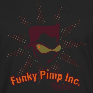 THE FUNKY PIMP INC. by toneyshirts - T-shirt manches longues Premium Homme