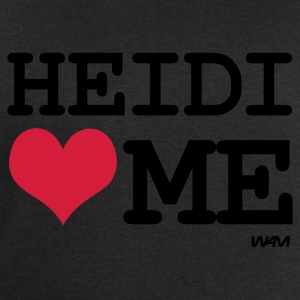 Noir heidi loves me by wam T-shirts - Sweat-shirt Homme Stanley & Stella