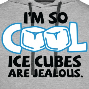 Im So Cool 2 (dd)++ Tee shirts - Sweat-shirt à capuche Premium pour hommes