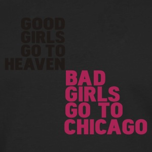 Nero bad girls go to chicago T-shirt - Maglietta Premium a manica lunga da uomo