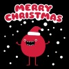 Funny Santa Claus - Merry Christmas T-Shirts - Men's Slim Fit T-Shirt