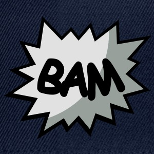 Comiques bulle Bam Tee shirts - Casquette snapback
