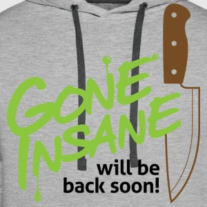 Gone Insane 2 (dd)++ Tee shirts - Sweat-shirt à capuche Premium pour hommes
