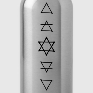 elements of alchemie  T-Shirts - Water Bottle
