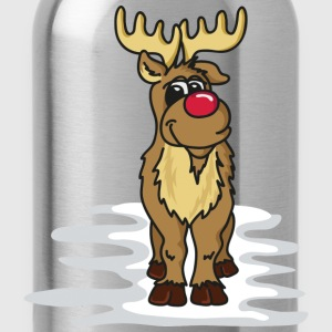 Rudolph the Reindeer T-Shirts - Water Bottle