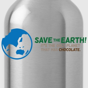 Save The Earth 1 (dd)++ Camisetas - Cantimplora