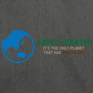 Save The Earth 1 (dd)++ T-shirts - Schoudertas van gerecycled materiaal
