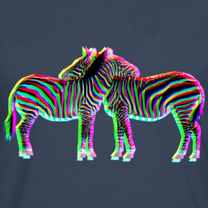 colorful ZEBRAS | Männershirt slim fit - Männer Premium Langarmshirt