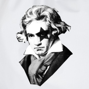 Beethoven rock Kiss Black Metal Tee shirts - Sac de sport léger