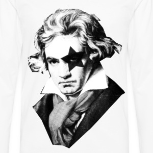 Beethoven rock Kiss Black Metal Tee shirts - T-shirt manches longues Premium Homme