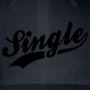 Single T-shirts - Flexfit baseballcap