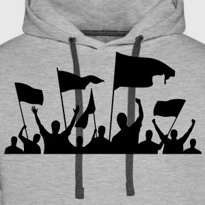 Protesters (1c)++ T-shirts - Mannen Premium hoodie