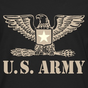us army design 2 Tee shirts - T-shirt manches longues Premium Homme