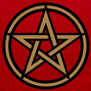 Pentagram amulet- Sign of intellectual omnipotence and autocracy. 2c, Star of the Magi , powerful symbol of protection T-Shirts - Winter Hat