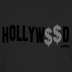 Schwarz hollywood by wam T-Shirts - Männer Premium Langarmshirt