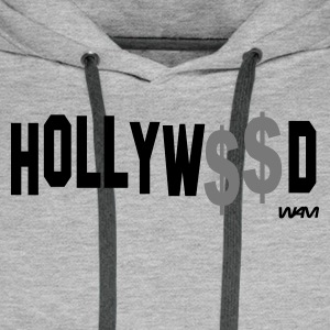 Grau meliert hollywood by wam T-Shirts - Männer Premium Hoodie
