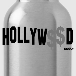 Schwarz hollywood by wam T-Shirts - Trinkflasche