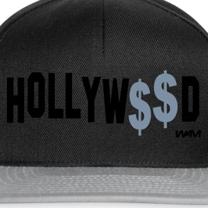 Negro hollywood money by wam Camisetas - Gorra Snapback