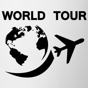world tour T-shirts - Kop/krus