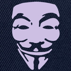 GUY FAWKES, anonymous T-Shirts - Snapback Cap
