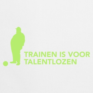 Training is voor talentlozen - Keukenschort