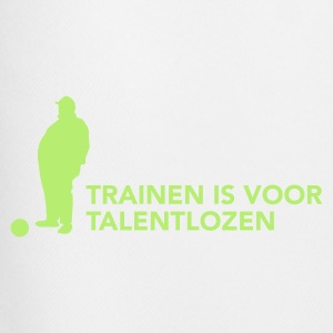 Training is voor talentlozen - Mannen voetbal shorts