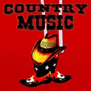 country music T-Shirts - Kontrast-Hoodie