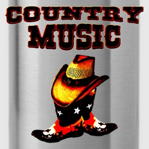 country music T-Shirts - Trinkflasche