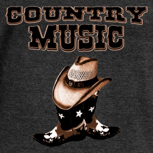 country music Tee shirts - Pull Femme col bateau de Bella