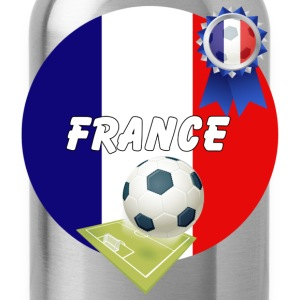 France Football Team Supporters - Water Bottle