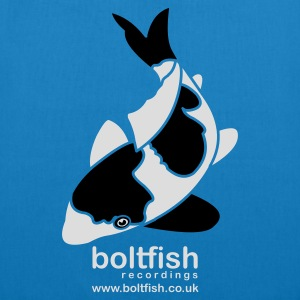 Sky blue Boltfish Koi Fish Men's T-Shirts - EarthPositive Tote Bag