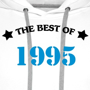 The Best of 1995 T-shirt - Felpa con cappuccio premium da uomo
