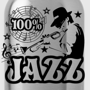 100% jazz Tee shirts - Gourde