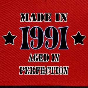 Made in 1991 T-Shirts - Snapback Cap