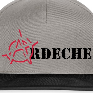 Anarchy Ardeche Tee shirts - Casquette snapback