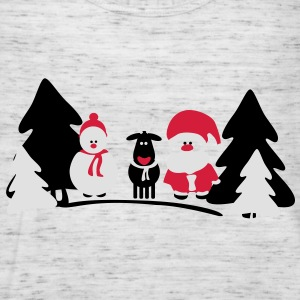 christmas crew 2 T-Shirts - Women's Tank Top by Bella