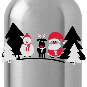 christmas crew 2 T-Shirts - Water Bottle
