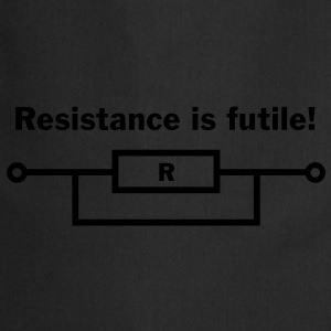 resistance is futile! T-Shirts - Cooking Apron