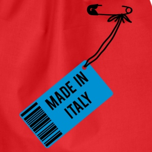 Rot Made in Italy T-Shirts - Turnbeutel