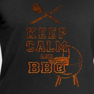 Keep Calm and BBQ T-Shirts - Men's Sweatshirt by Stanley & Stella
