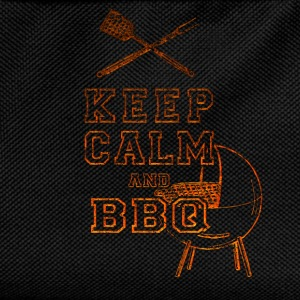 Keep Calm and BBQ T-Shirts - Kids' Backpack