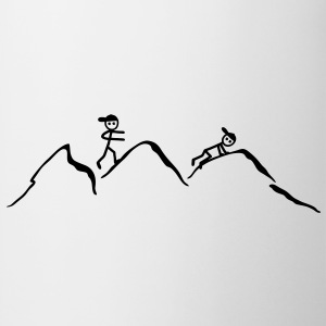 Climber in the mountains - Mug