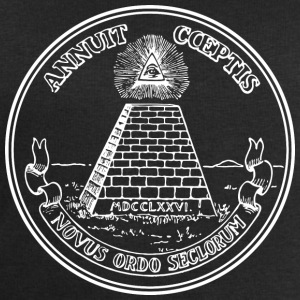 All seeing eye, pyramid, dollar, freemason, god T-shirts - Sweatshirt herr från Stanley & Stella